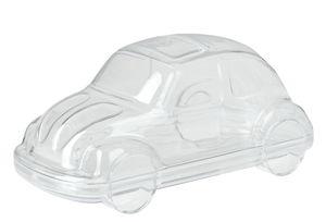 Kunststoff-Auto (130 mm) glasklar