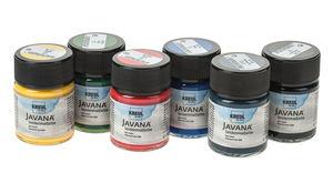 Javana zijdeverf (50 ml) 6 stuks