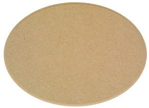 Houten 'Ovaal' (23 x 16,5 cm)