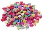 Perlas decorativas - Corazones, 160 ud. aprox.