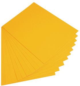 Papier de couleur, 130 g/..., jaune foncé