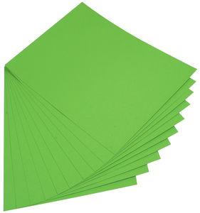 Gekleurd papier (50 x 70 cm) 10 vel, grasgroen