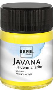 Seidenfarbe Javana, 50 ml gelb
