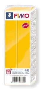 Fimo soft boetseerklei (454 g) zonnegeel