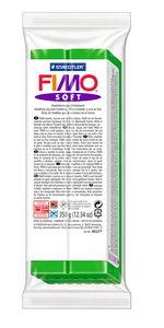 FIMO soft - Bloque grande (350 g) verde hoja