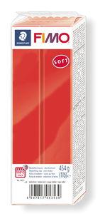 Fimo soft boetseerklei (454 g) Indisch rood