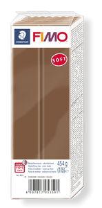 Fimo soft Großpack, 454 g braun