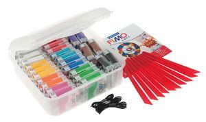 FIMO soft - en caja, 26 bloques de 57 g