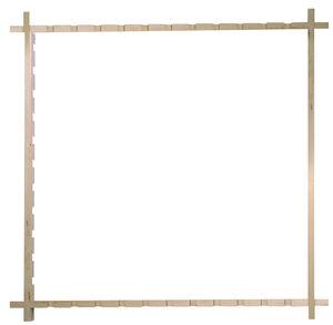 Spanraam voor zijdeverven, medium (75 cm)