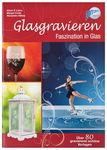 Duits boek:'Glasgravieren, met 80 voorbeelden