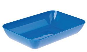 Materiaalbak, kunststof, 23 x 15 cm, blauw