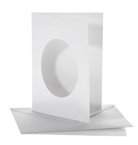 Passe Partout Kaarten.Passe Partout Kaarten Enveloppen 50 Stuks Ovaal Opitec