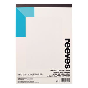 Aquarellpapier Reeves, 12 Blatt DIN A4