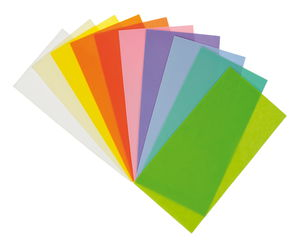 Wachsplatten, 10 Farben pastell (200 x 100 mm)