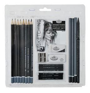 Sketching Artist Set, 21-tlg.