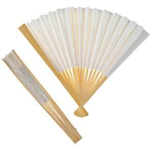 Papierfächer, 12 Stück natur/weiß (25,5x3x2 cm)