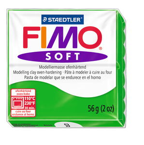 Fimo soft boetseerklei (57 g) tropisch groen
