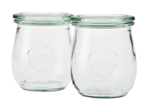 WECK® tulpglas (60 x 80 mm) 2 stuks