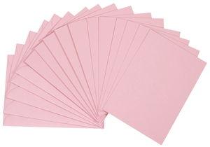 Doppelkarten, 5 Stück rosa          (DIN A6)