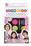 Snazaroo Aqua schminkset - meisjes, 8 kleuren