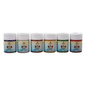 Holzlasur Farbenset, 6 Gläser á 50 ml