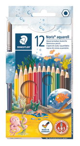 STAEDTLER aquarel kleurpotloden, 12 stuks
