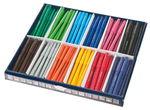 STAEDTLER Fasermaler, 144er-Set in 12 Farben