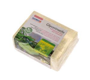 Glycerine zeep - Eco olijfolie, transparant, 500g