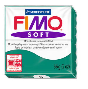 Fimo soft Modelliermasse, 57 g smaragd