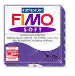 Fimo soft boetseerklei (57 g) pruimen