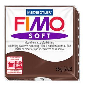 Fimo soft boetseerklei (57 g) chocolade