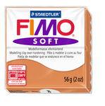 Fimo soft Modelliermasse, 57 g cognac