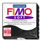 Fimo soft boetseerklei (57 g) zwart