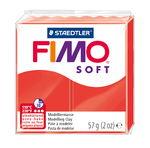 Fimo soft boetseerklei (57 g) Indisch rood