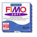 Fimo soft Modelliermasse, 57 g brillantblau