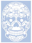 Schablone Skulls & Hearts (DIN A4)
