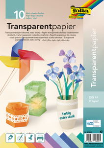 Papier transparent de couleur, Résist...,