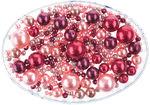 Mix de perlas Renacimiento, 65 g, rosa/rojo