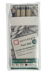 Kit para zentangle®, 10 piezas