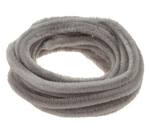 Fils chenille , Diam. 8 mm, long. ..., gris