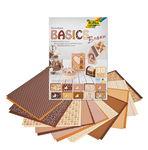 Bloc de cartulina/papel Basics (24x34 cm) 30 hojas