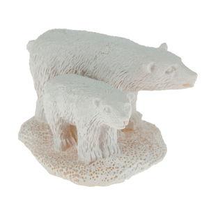 Eisbären Resin weiß (5,5 x 3,4 cm)