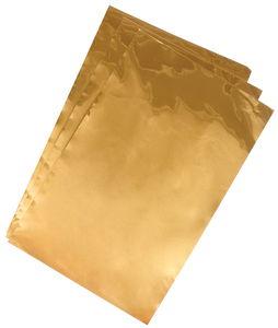 Ciseleerfolie (185 x 295 mm) goudkleur, 3 vel