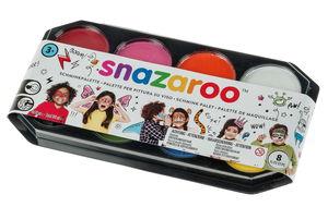 Snazaroo Jumbo Schminkpalette, 8 Farben