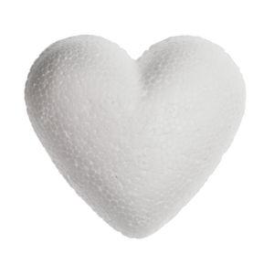 Coeur en polystyrène , la pièce , 5 cm (ø)