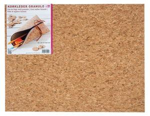 Corcho para marroquinería, granulado (45 x 35 cm)