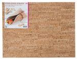 Cuir de liège rayures (45 x 35 cm)