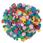 Papierblumen 3600 Stück, bunt sortiert