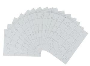 Puzzle vierge en carton, A ..., 24 pièces