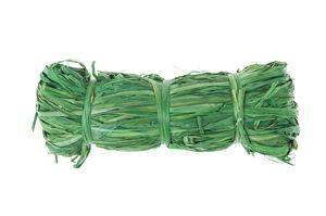 Raffia - natuurvezel, 50 g, lichtgroen